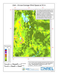 Map Of Utah by Windexchange Utah 30 Meter Residential Scale Wind Resource Map