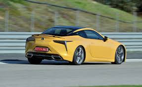 lexus yellow sports car 2018 lexus lc 500 cars exclusive videos and photos updates