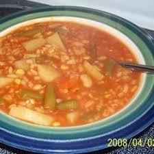 quick and easy vegetable soup recipe allrecipes com