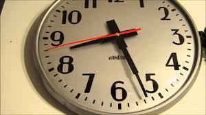 vintage standard clock youtube