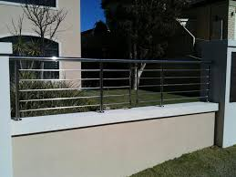 white stainless steel balcony railing fencing china white