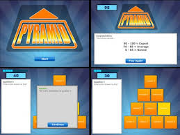 pyramid game show template powerpoint metlic info