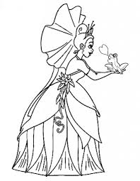 princess and the frog coloring pages 12 u2013 coloringpagehub