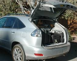 lexus rx cargo space 2009 lexus rx 350 review touring northern arizona