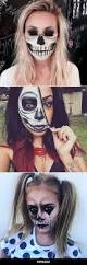 Skeleton Face Painting For Halloween by 25 Best Skeleton Face Makeup Ideas On Pinterest Halloween Skull