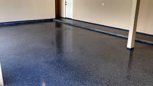 epoxy flake garage floor coating in the woodlands home