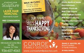happy thanksgiving hr 2017 conroe family doctor