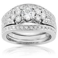 Diamond Wedding Ring Sets by Wedding Ring Sets U0026 Diamond Bridal Jewelry Bridal Sets U0026 Jewelry
