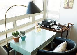 west elm mid century mini desk leslie jones s jaw dropping apartment transformation front main