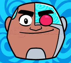 how to draw cyborg easy step by step cartoon network characters