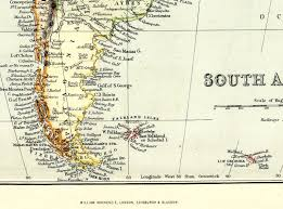 Brazil On South America Map by Antique Map South America Brazil Patagonia Colombia Etc Victorian