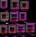 Elevators in plant in DWG | BiblioCAD
