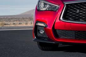 infiniti qx60 red 2018 infiniti q50 shows off facelift in geneva motor trend