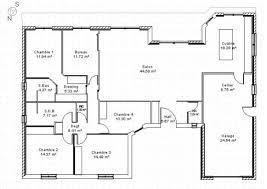 plan maison contemporaine plain pied 3 chambres maison u 3 chambres