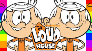 coloring lincoln loud the loud house nickelodeon coloring pages