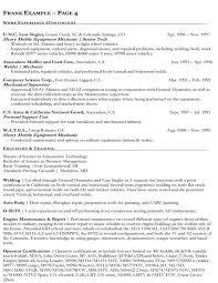 free auto resume maker automotive mechanic resume 1902 best free resume sample images on