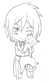 black butler coloring pages at snapsite me