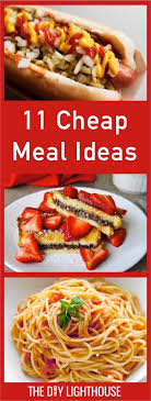 best 25 cheap meal plans ideas on family dinner menu