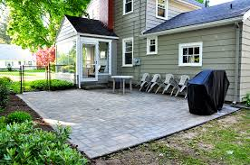 Lowes Pavers For Patio Amazing Lowes Paver Patio With Outdoor Landscaping Ideas