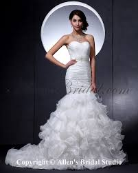 Wedding Dress Gallery Mermaid Ruffle Wedding Dress Gown And Dress Gallery