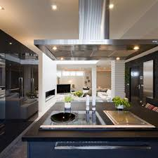 cuisine 15m2 ilot centrale ilot central idée décoration ilot central et aménagement domozoom
