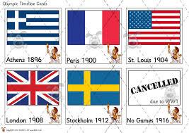 pet olympics timeline sorting cards premium printable