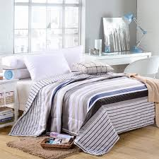 Striped Comforter Online Get Cheap White Striped Comforter Aliexpress Com Alibaba