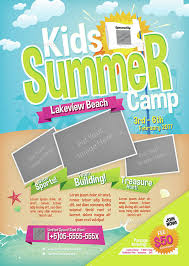 summer camp flyer template stackerx info