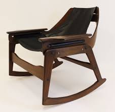 Rocking Chairs For Adults Mid Century Modern Jerry Johnson Sling Rocking Chair 1960 U0027s