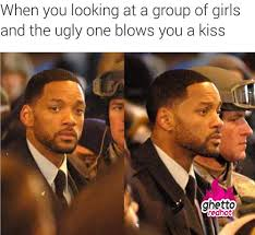 Ugly Girl Meme - when the ugly one blow you a kiss ghetto red hot