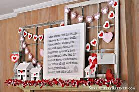 serendipity refined blog diy repurposed valentine u0027s day mantel decor