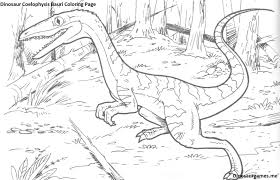 dinosaur coelophysis bauri coloring page dinosaur coloring pages