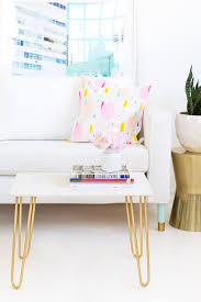 diy marble and gold accent table sugar u0026 cloth