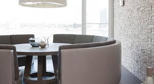 sofa esstisch esstisch massiv mit rundem sofa für modernes esszimmer freshouse