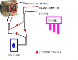 typical doorbell wiring diagram how to wire a doorbell transformer