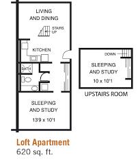 2 Room Flat Floor Plan Bannockburn Village
