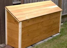 the runnerduck firewood box plan is a step by step instructions
