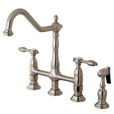 bridge faucets kitchen bridge faucets kitchen faucets the home depot