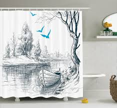 Map Shower Curtain Amazon Com Moroccan Shower Curtain By Ambesonne Middle Eastern