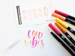 colors that compliment pink how to use the tombow blending kit