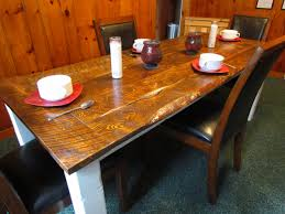 reclaimed barn wood dining table tabula rasa