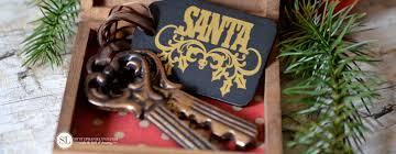 santa key magical santa christmas house for santa bystephanielynn