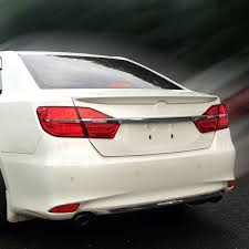 toyota camry trunk car styling rear wing trunk spoiler decorative cover for europe