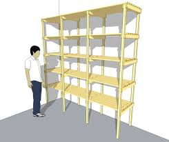 Wooden Storage Rack Plans by Smart Ideas Diy Wood Storage Shelves Wonderful Decoration Best 20