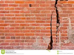 cracked brick wall royalty free stock photography image 9941057