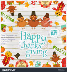 thanksgiving day card frame stock vector 512891281