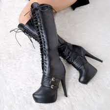 womens black knee high boots size 11 popular size 11 knee high boots heels buy cheap size 11