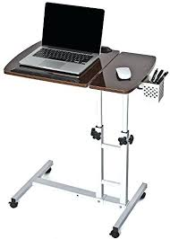 Rolling Stand Up Desk Desk Small Adjustable Height Laptop Table Jesper Height Pertaining