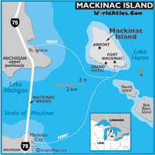 map of mackinac island mackinac island map ferry and hotels travel information page