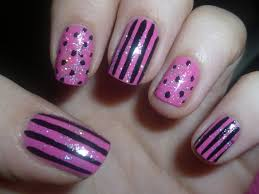 nail art black and white simple best nail 2017 27 white and black